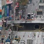 Elnyeli az utcát a föld? A japánoknak van gyors megoldásuk