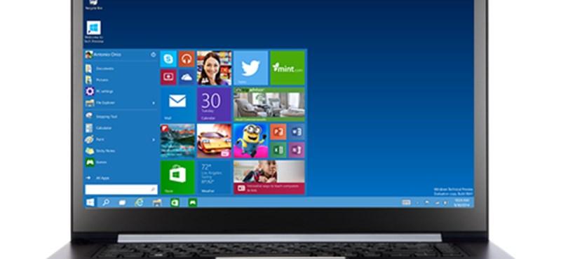 Ingyen Windowst tölthet le az is, aki céges