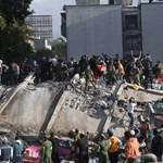 Pusztított a földrengés Mexikóvárosban