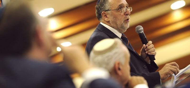 Boldog Karácsonyt kívánt a zsidó hitközség (Mazsihisz) elnöke