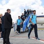 Fotó: Megérkezett a Chelsea Budapestre