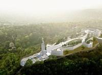 Fotók: Ilyen lesz a megújult Citadella