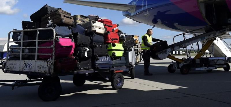 A rendőrség szerint normális, hogy a repülőtéren feltörve érkezik meg az utasok bőröndje
