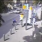 18+ videó: Brutális merényletet rögzített egy utcai kamera Jeruzsálemben