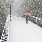 Elbánt az április tél Ausztriával és Németországgal - fotók