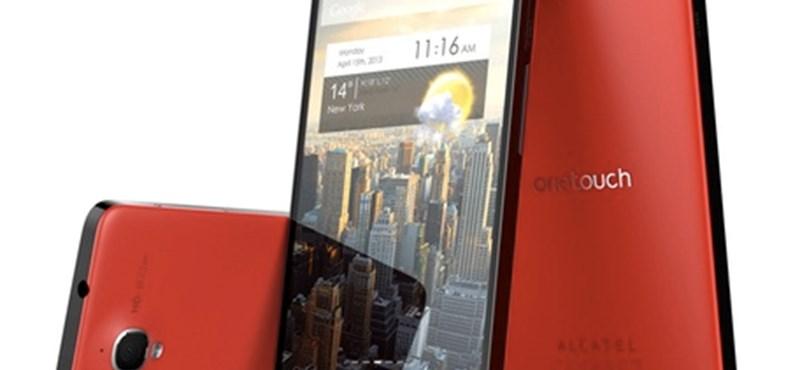 Nagy Androiddal támad az Alcatel