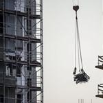 Egy év alatt 40 százalékkal nőtt a magyar építőipar