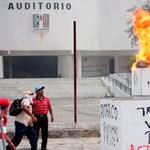 Törtek-zúztak a dühös tanárok Mexikóban
