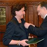 Orbán Viktor ma megörvendeztette Degenfeld-Lindner Máriát