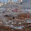 """""""Akasszátok fel őket!"""" - zavargások Bejrútban a robbanás miatt"""