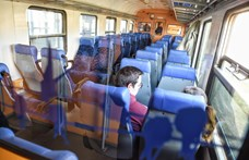 80 százalékkal kevesebben utaznak a vasúton