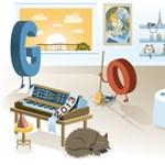 2013: az új évet ünnepli a Google