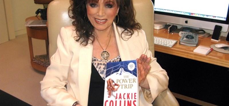 Meghalt Jackie Collins, a dúsgazdag bestselleríró