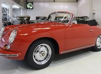 Kicsi, régi, piros és nyitott tetős ez a 450 millió forintért kínált Porsche