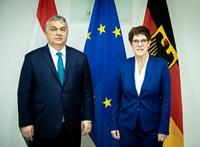 Magyarországon tárgyal csütörtökön Orbán és a CDU elnöke