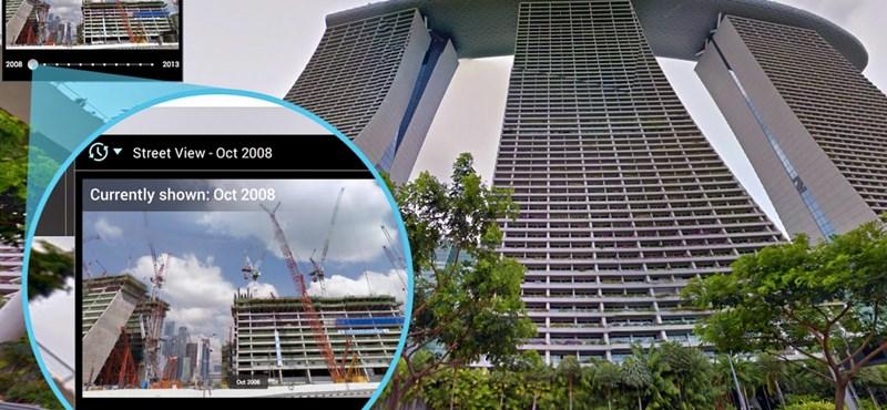 Ez tetszeni fog: látványos, időutazós funkció a Google Street View-n