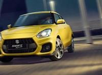 Lomhább lett a hibridesített új Suzuki Swift Sport