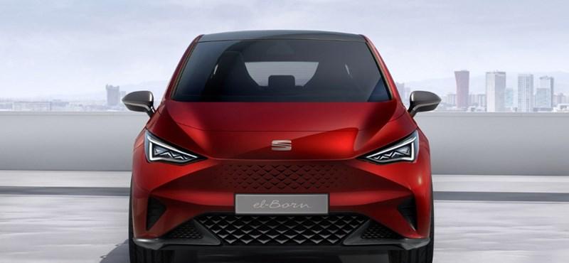 Hivatalos: itt a Seat első teljes értékű villanyautója