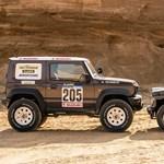 Magasra nőtt törpe: Dakar-csomagot kapott az új Suzuki Jimny