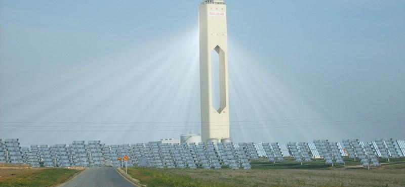 Brutális napkollektor: Sevilla búcsút int a gázszámlának
