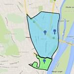 Térkép: Egészen a Bogdáni útig fizetni kell a parkolásért Óbudán