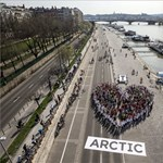 Fotó: flashmobot tartottak a rakparton