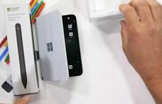 Videón, ahogy megkínozzák a Microsoft androidos telefonját