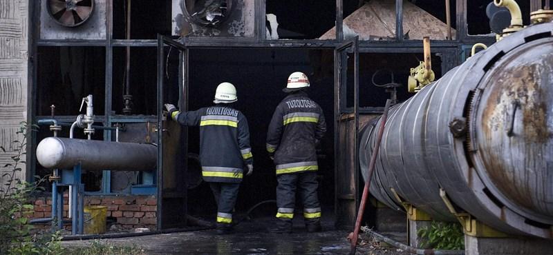 Fotók: 2400 négyzetméteres csarnok égett Lakitelken