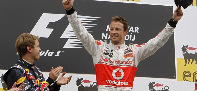 Hamilton és Webber hibázott, Button pedig megnyerte a Magyar Nagydíjat