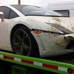 Ismét focista tört össze egy drága szupersportkocsit