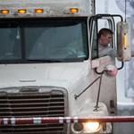 Rommá törtük a kamiont az állami képzésen