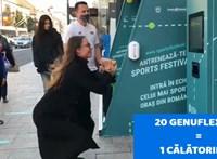 Buszjegyet kap, aki húszat guggol Kolozsváron