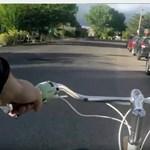 Tudja mi az a holland ajtónyitás? Mentsen vele bicikliseket – videó