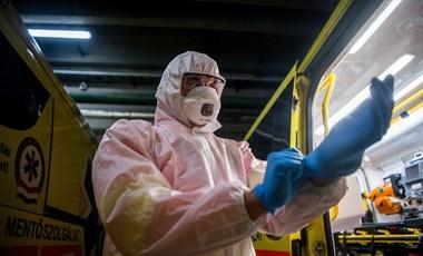 30 ezer újfajta koronavírustesztet kaptak a magyar mentők, már használják