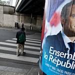 Franciaország ma elnököt választ, Macron az esélyes