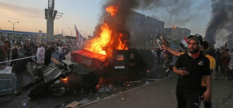 Már 27 halottja van az iraki tüntetéseknek