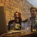 Videó: Így örült Deák Kristóf az Oscar-jelölésnek egy újlipótvárosi kávézóban, a laptopja előtt ülve