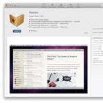 Letölthető a végleges Reeder a Mac App Store-ból