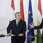 Az osztrák kancellár a jogállamról is beszélgetett Orbánnal