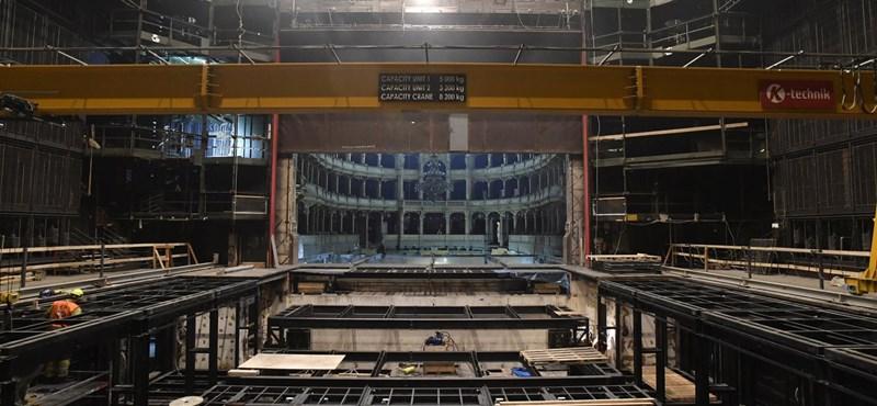 Ahogy még nem látta az Operaházat: így zajlik a felújítás
