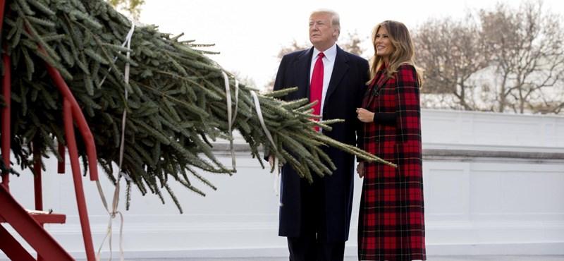 Trump nem lóg ki a pénzes amerikaiak közül, amikor befektetésként beszél a feleségéről