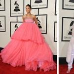 Meghökkentő Grammy-look: egy szoknya, egy nadrág és Madonna