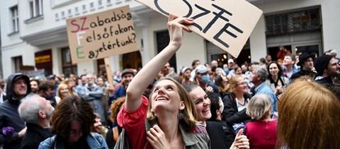 Pénteken ismét tüntetnek a Színművészeti hallgatói