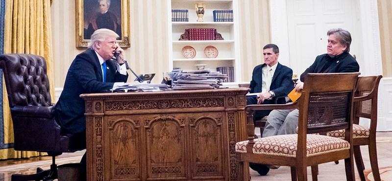 """""""Áruló!"""" - """"Őrült!"""" heves a Trump és Bannon közti szócsata"""