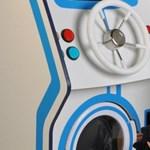 A nap kütyüje: mosógép, játékosoknak (videó)