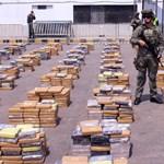 Ez minden idők legnagyobb drogfogása Kolumbiában