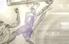 Ingyen megnézehetjük Kobe Bryan Oscar-díjas rajzfilmjét a kosárlabdáról