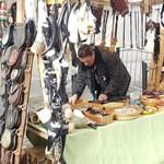 Budaházy György kézműves standot nyitott az ünneplők között