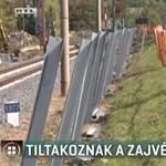 A fonyódiak nem akarnak zajvédő falat a vasúthoz, a panorámát féltik