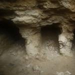 Ókori sírkamrát találtak egy hátsó kertben Gázában – videó